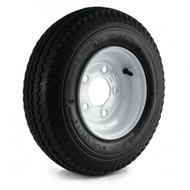 "Loadstar 480-8 5 Lug 8"" Bias Trailer Tire - White Load Range B"
