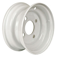 "Loadstar 4 Lug 12"" Rim Only - White"