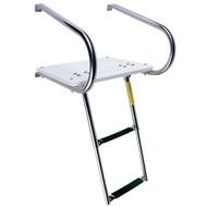 Garelick I-O Swim Platform with Telescoping Ladder