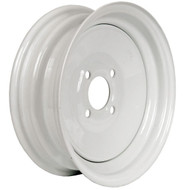 "Loadstar 4 Lug 13"" Rim Only - White"