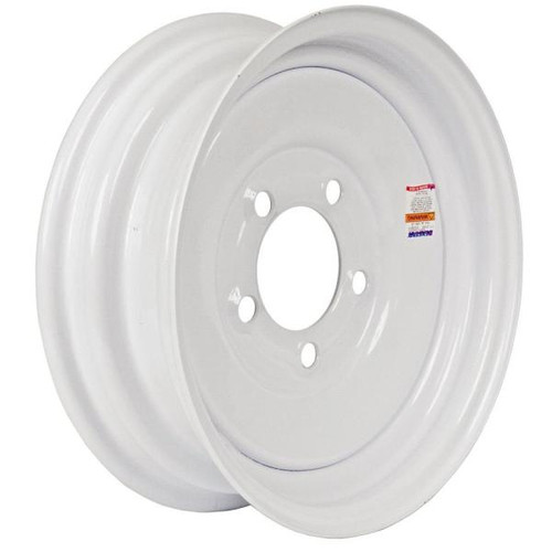 "Loadstar 5 Lug 14"" Rim Only - White"