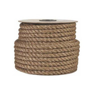 "1-1/2""  by 50ft Twisted Decorative Manila Rope"
