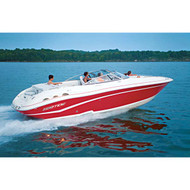 """V-Hull Outboard Extended Platform 20'5'' to 21'4'' Max 102"""" Beam"""