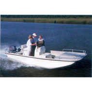 "Square Bow Bay Boat 16'6"" to 17'5"" Max 90"" Beam"