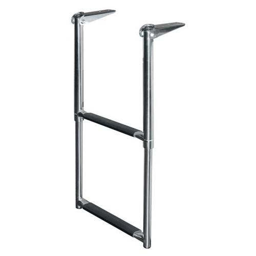 JIF Stainless Steel Telescoping Drop Ladder