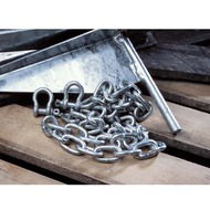 Galvanized Anchor Chain And Shackles