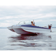 """Modified Tri-Hull Outboard 17'5"""" to 18'4"""" Max 88"""" Beam"""
