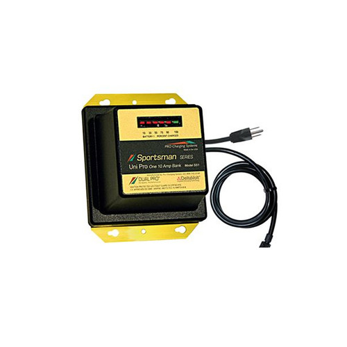Dual Pro SS1 Sportsman Series Battery Charger 1 Bank 10 Amp