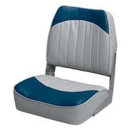 Wise 8WD734PLS-660 Fold Down Fishing Seat - Grey/Navy
