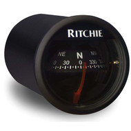 Ritchiesport X-21 In- Dash Marine Compass - Black