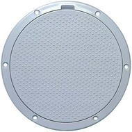 """Beckson Non-Skid Dimple 6"""" Pry Out Marine Deck Plate"""