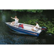 "V-Hull Tiller w/o Motor Hood 14'5"" to 15'4"" Max 65"" Beam"