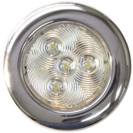 T&H Marine Led Ss Puck Lite 4''