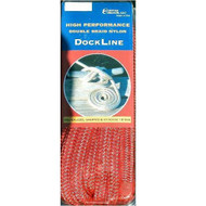 Custom Cordage Double Braid Dock Line - Red