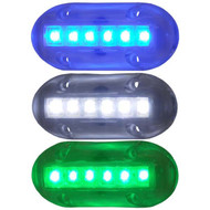 T&H Marine LED Underwater Lights 1.5'' X 3.5''