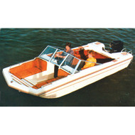 """Tri-Hull Outboard 15'5"""" to 16'4"""" Max 90"""" Beam"""