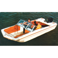 """Tri-Hull Outboard 17'5"""" to 18'4"""" Max 96"""" Beam"""