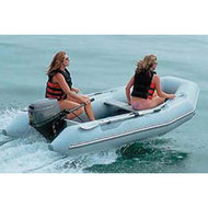 """Inflatable Boat Cover w/o Motor 11'5"""" to 12'4"""" Max 66"""" Beam"""
