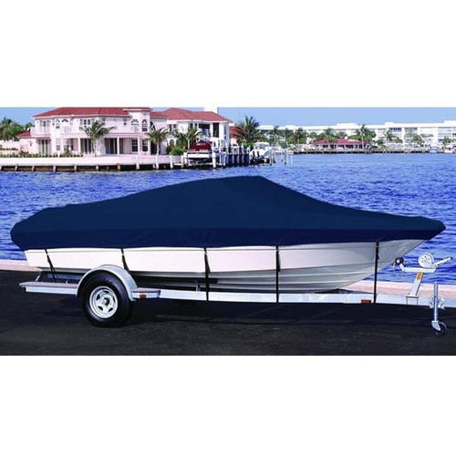 Crestliner 1850 Fish Hawk Boat Cover, Side Console, 2002-2007