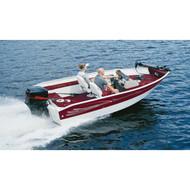 """Deep V-Hull Boat w/o Motor Hood 15'10"""" to 16'10"""" Max 82"""" Beam"""