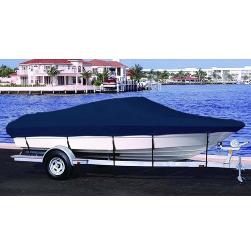 Lund 1700 Angler SS Side Console Outboard Boat Cover 1999 - 2001