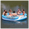 Airhead Lazy Lagoon Inflatable Island in Action