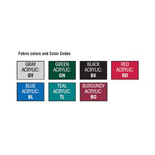 "Attwood Bimini Top Fabric 75""-81"" Wide Colors"