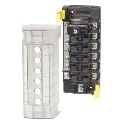 Blue Sea ST CLB 6 Position Circuit Breaker Block