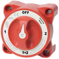 Blue Sea Systems e-Series Selector Battery Switch w/ AFD