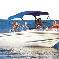 "Ultima Bimini Boat Top 60-66"" Width x 54"" Height 6 ft Long"