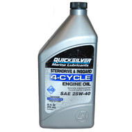 Quicksilver Conventional 25w-40 Engine Oil