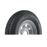 "Karrier 205/75D14 5 Lug 14"" Radial Trailer Tire - Galvanized"