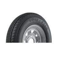 """Karrier 225/75D15 5 Lug 15"""" Radial Trailer Tire - Galvanized"""