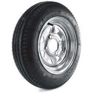 "Loadstar 480-12 4 Lug 12"" Bias Trailer Tire - Galvanized Load B"