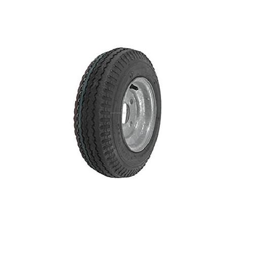 "Loadstar 570-8 5 Lug 8"" Bias Trailer Tire - Galvanized Load B"