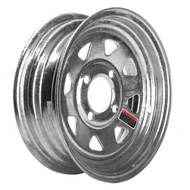 "Loadstar 4 Lug 12"" Rim Only - Galvanized"