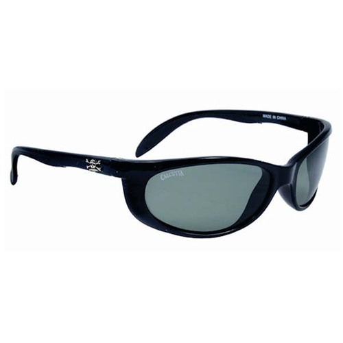Calcutta Smoker Sunglasses - Black Frame W/ Gray Lens