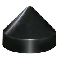 JIF Round Conehead Piling Cap - Black