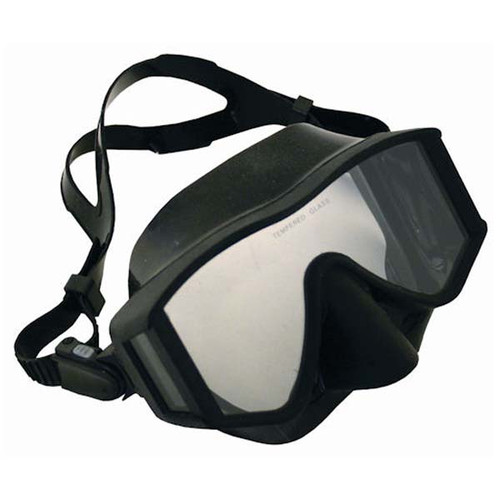 Black Med/Lg Mask By Calcutta