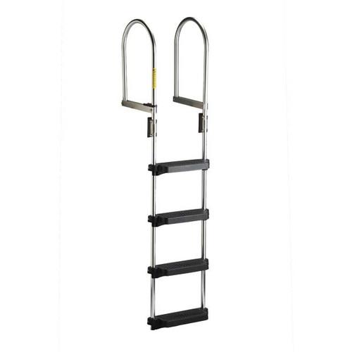 Garelick Dock/Raft Ladder - Flip-Up Model - 4 Step