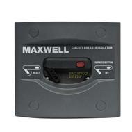 Maxwell Marine 80 AMP Breaker/Isolator Panel