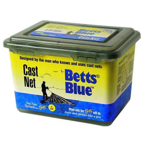 """Blue Mono Cast Net W/ 3/8"""" Mesh By Betts"""