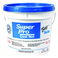 "Super Pro Mono Bait Cast Net W/ 1/4"" Mesh By Betts"
