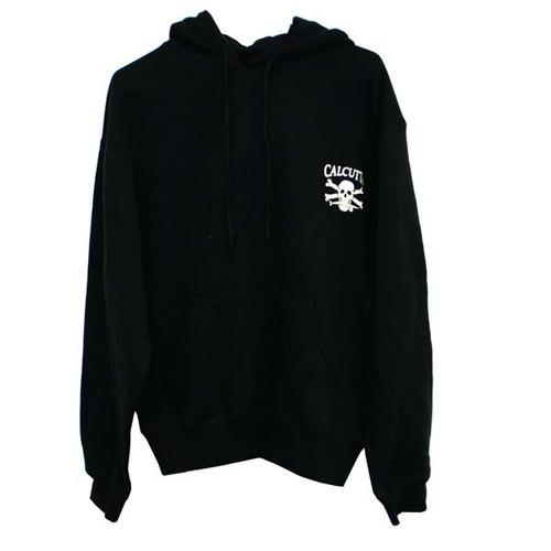Black Hooded Sweatshirt By Calcutta