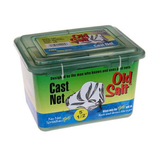 """Betts Old Salt Mono Cast Net W/ 1/2"""" Mesh"""