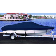 Klamath 18 Offshore Side Console Outboard Boat Cover  1998 - 2001