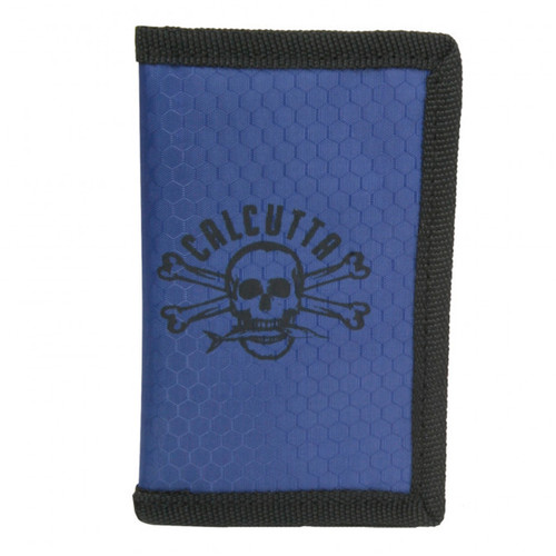 Calcutta Yellow Lure Wrap-Blue