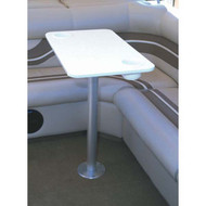 Garelick Stowable Pedestal System w/ Poly Table Top