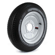 "Loadstar 480-8 5 Lug 8"" Bias Trailer Tire - White"