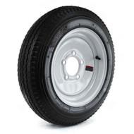 "Loadstar 480-12 5 Lug 12"" Bias Trailer Tire - White"
